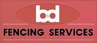 B & D Fencing logo